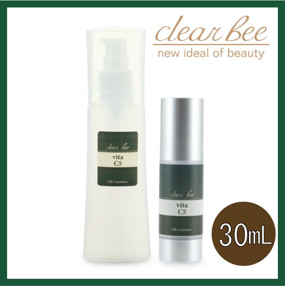 clear bee クリアビー【3点セット】ビタC5 30mL×3点イオン導入可能CBS化粧品 エステティックサロン専売品