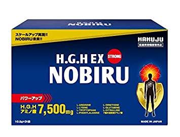 H.G.H EX NOBIRU (10.5g x 31袋)×3個セットエイチジーエイチ イーエックス ノビル旧 HGH NOBIRU PLUS HGH協会認定品 エイチジーエイチ送料無料