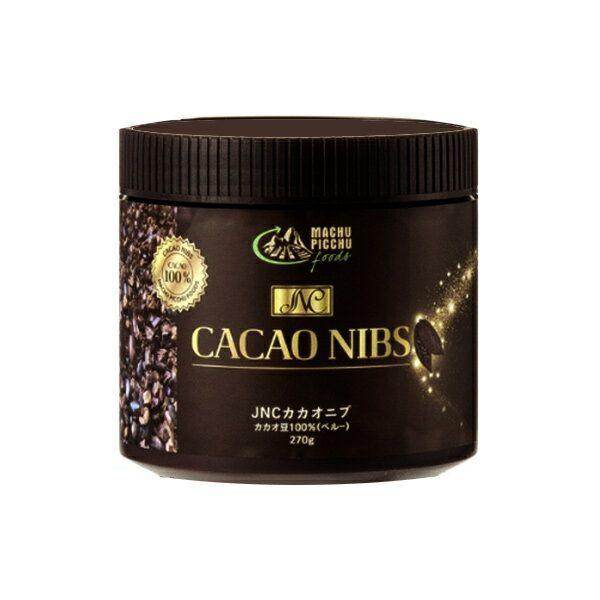 【先着クーポン配布中】JNC カカオニブ 270g x 2個セット CACAO NIBS カカオ豆100% ポリフェノールがとても豊富 正規品