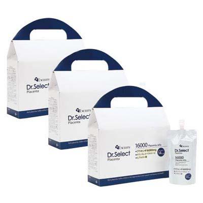 Excelity Dr.Select Placentaエクセリティードクターセレクトプラセンタ【3箱セット】16000 プラセンタゼリー(1箱7パック入り)