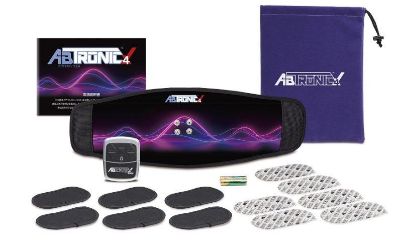 アブトロニック X4 ems 腹筋ベルト 腹筋 筋トレ シックスパック ダイエット トレーニング フィットネス シェイプアップ エクササイズ 背筋 筋収縮運動 コンパクト 腹筋ベルト ながら おうち時間 プレゼント ギフト 贈り物 ABTRONIC 正規品 送料無料