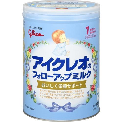 送料無料5個セット アイクレオ フォローアップミルク 820g粉ミルク アイクレオ グリコ ベビーミルク 新生児用ミルク