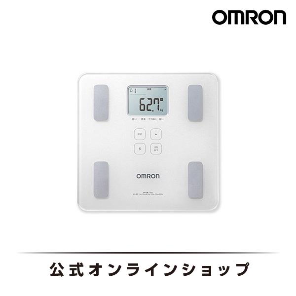 オムロン 公式 体重体組成計 体重計 デジタル 体脂肪率 HBF-227T-SW シャイニーホワイト Bluetooth通信対応 送料無料