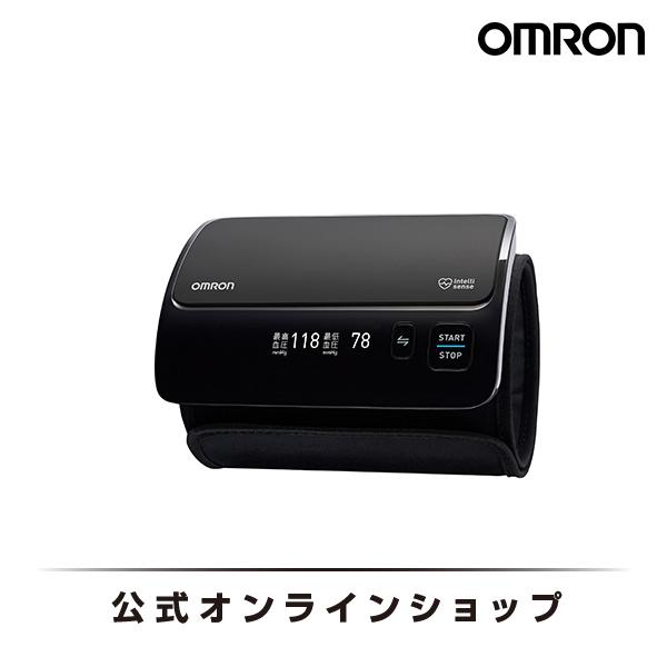 オムロン 公式 血圧計 上腕式 ブラック HEM-7600T-BK チューブレスコンパクトモデル 送料無料 正確