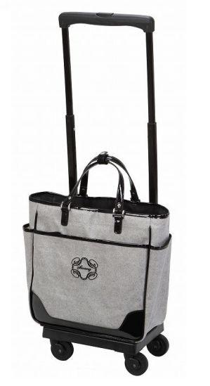 *【送料無料(一部地域除く)!!】SWANY[スワニー] D-145 モノグラーモ・C M18(キャリーバッグ・ウォーキングバッグ・買い物バッグ・カート・支えるバッグ・バッグ・買い物・日常・旅行)