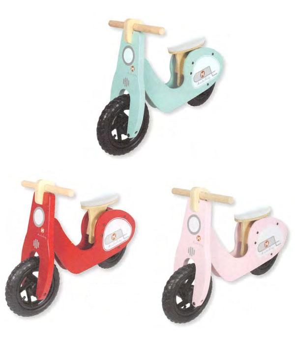 *ポイント15倍!!【送料無料(一部地域除く)!!】spice[スパイス] RIDE-ON SCOOTER[ライドオンスクーター] SFKC1310(乗用玩具・木製・足こぎバイク・子供用スクーター・玩具・おもちゃ)