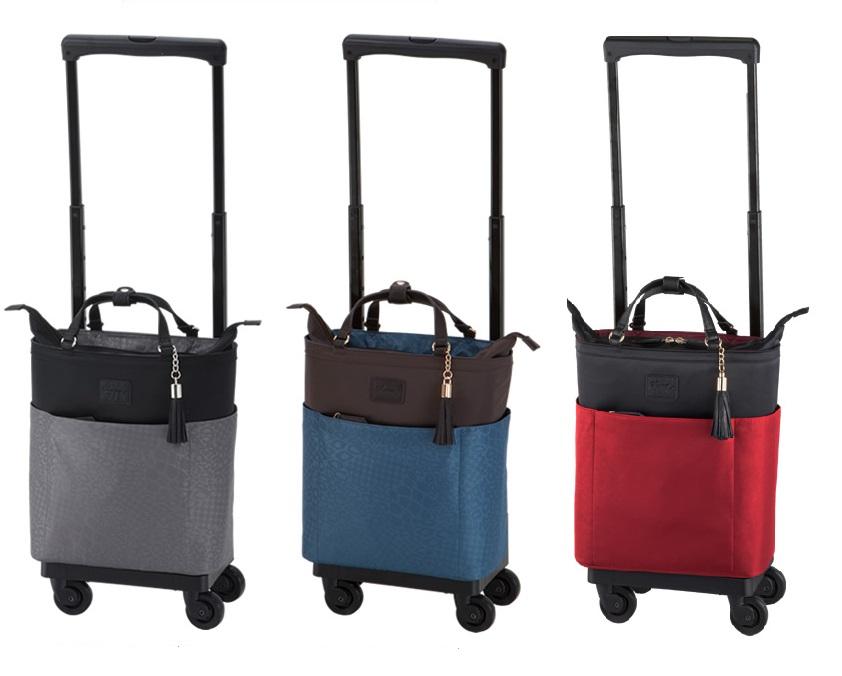 【送料無料(一部地域除く)!!】SWANY[スワニー] D-284 カトゥサコ(M18) (キャリーバッグ・ウォーキングバッグ・買い物バッグ・カート・支えるバッグ・バッグ・買い物・日常・旅行)