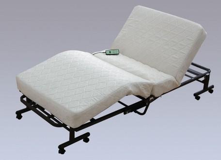 *【送料無料(一部地域除く)!!】アイリスオーヤマ 折りたたみコイル電動ベッド OTB-CDN (寝具・ベッド・マットレス・セット・睡眠・快眠)