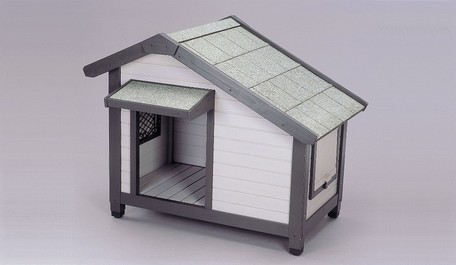 *【送料無料(一部地域除く)!!】アイリスオーヤマ コテージ犬舎 CGR-1080 (ペット用品・犬小屋・犬舎・ハウス)