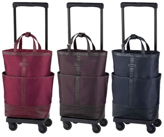 【送料無料(一部地域除く)!!】SWANY[スワニー] D-320 グローラ座面付 (L21) (キャリーバッグ・ウォーキングバッグ・買い物バッグ・カート・支えるバッグ・バッグ・買い物・日常・旅行)