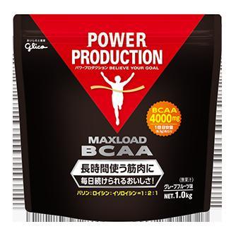 *【送料無料(一部地域除く)!!】Glico[グリコ] 箱売り マックスロードBCAA 1.0kg×4個 (トレーニング・アミノ酸・バリン・ロイシン・イソロイシン・リカバリー)