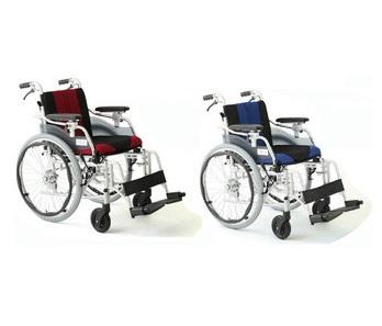 *【送料無料(一部地域除く)!!】MIWA 自走・介助兼用車いす デラックスEZ HTB-22EZ (車イス/車椅子/車いす・介護用品・介護)
