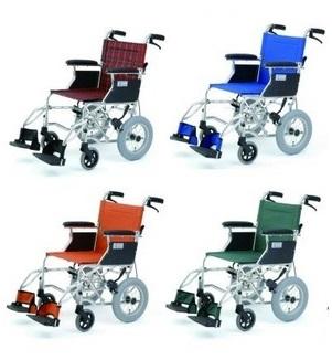 *【送料無料(一部地域除く)!!】MIWA 軽量コンパクト介助式車いす HTB-12 (車イス/車椅子/車いす・介護用品・介護)