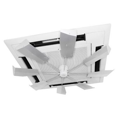 *【送料無料(一部地域除く)!!】キングジム ハイブリッド・ファン FJR HBF-FJRSW シルバー (エアコン・空調・省エネ・冷え症・オフィス・空調効率)