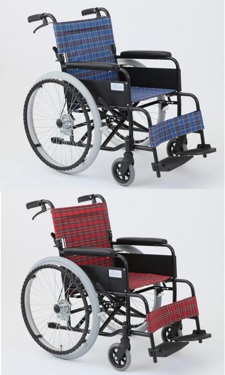 *【送料無料(一部地域除く)!!】MIWA アルミ製標準形車いす アミー22 MW-22AIIN (車イス/車椅子/車いす・介護用品・介護)