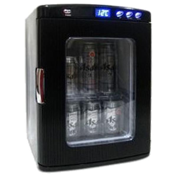 *【送料無料(一部地域除く)!!】SIS ポータブル保冷温庫 黒 XHC-25-BK (キッチン家電・冷温庫・保管・飲み物・小型)
