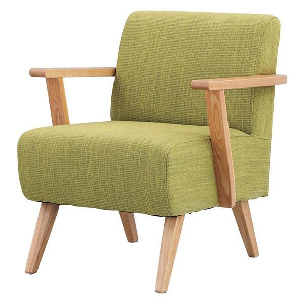 *【送料無料(一部地域除く)!!】東谷 RTO-741GR グリーン Moti(モティ) ※代引不可商品(家具・チェアー・ダイニングチェアー・椅子/いす/イス・インテリア)