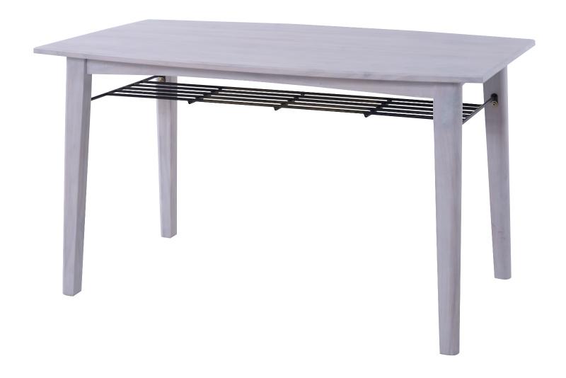 *【送料無料(一部地域除く)!!】東谷 ブリジット ダイニングテーブル PM-304TWH おしゃれ インテリア 家具 ※代引不可商品(家具・椅子/いす/イス・チェアー・ダイニングチェアー)