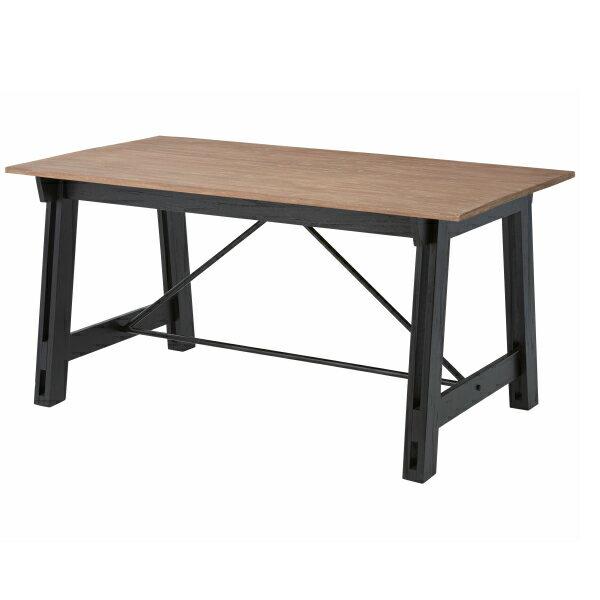 *【送料無料(一部地域除く)!!】東谷 ダイニングテーブル NW-853T ※代引不可商品(家具・椅子/いす/イス/チェアー/ダイニングチェアー/チェスト/タンス)