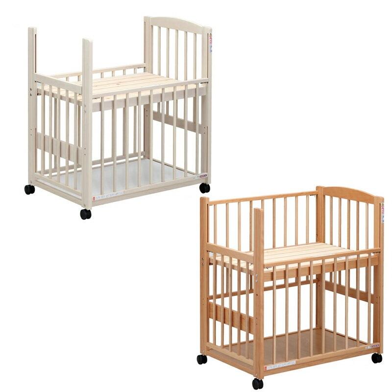*【送料無料(一部地域除く)!!】SAWABABY[サワベビー] ミニベッド P型コパン (ベビーベッド・キッズベッド・寝具・子供用寝具・幼児・赤ちゃん・ギフト・プレゼント・お祝い・ホワイト・ナチュラル)