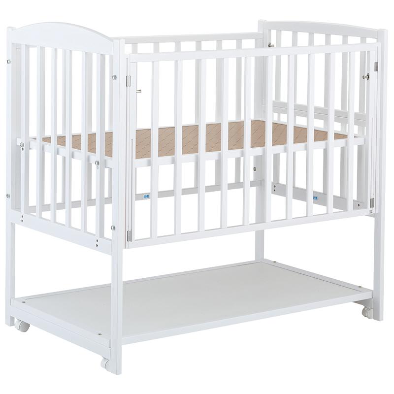 *【送料無料(一部地域除く)!!】KATOJIハイタイプベッド ツーオープン ホワイト(ベビーベッド・キッズベッド・寝具・子供用寝具・幼児・赤ちゃん・ギフト・プレゼント・お祝い・ホワイト)