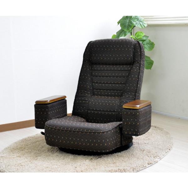 *直送【送料無料(一部地域除く)!!】ジェイサプライ回転リクライニン座椅子 S1R-188GWE(生活家電・家具・インテリア・雑貨)