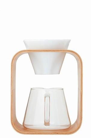 *【送料無料(一部地域除く)!!】AGCテクノグラス iwaki K9966DS-M コーヒーポット&ドリッパーセット[Barafu] (コーヒーメーカー・キッチン用品・ガラス容器・耐熱・ガラス・インテリア・オシャレ)