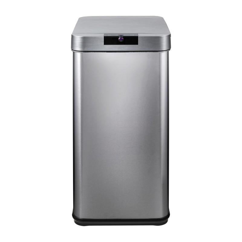 *【送料無料(一部地域除く)!!】ELPA[朝日電器] ELPA センサー付きダストボックス SDB-042S (ゴミ箱・自動開閉・台所・キッチン・リビング)
