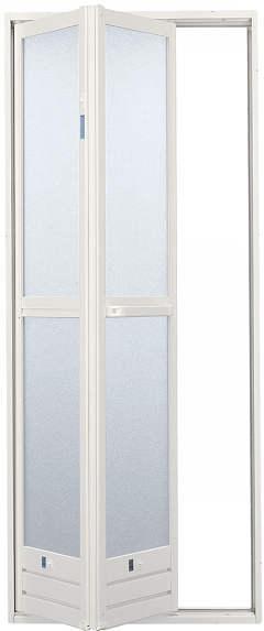 浴室折戸 [内付型] 750x1757 ◆2NDS YKKAP【浴室 ドア 交換】
