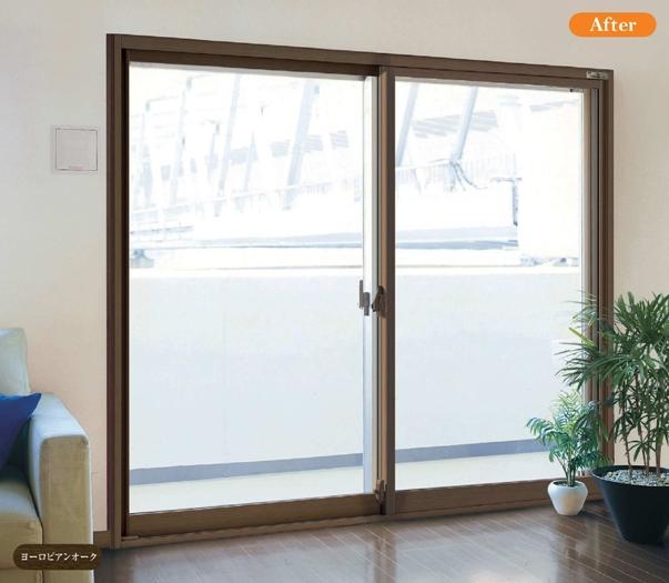 内窓◆寸法オーダー◆ 幅1300×高2200 ≪窓窓[まどまど]≫ AGC旭硝子
