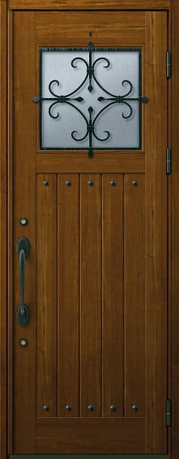 非断熱 玄関ドア プロント 片開き★U05型 Aタイプ★872x2330★YKKAP