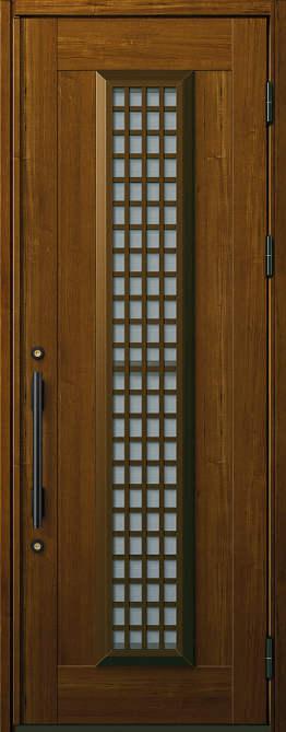 非断熱 玄関ドア プロント 片開き☆S12型 通風機構付きAタイプ☆872x2330☆YKKAP