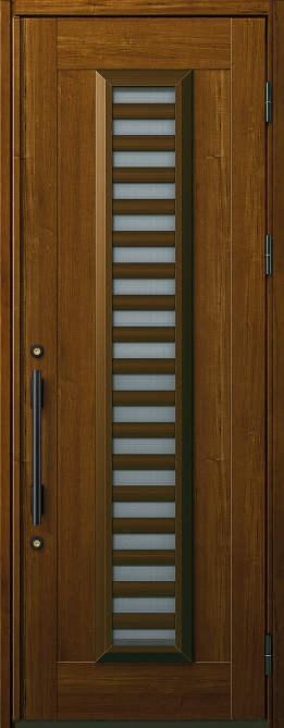 非断熱 玄関ドア プロント 片開き☆S11型 通風機構付きAタイプ☆872x2330☆YKKAP
