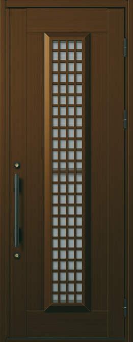 非断熱 玄関ドア プロント 片開き☆S12型 通風機構付きCタイプ☆872x2330☆YKKAP