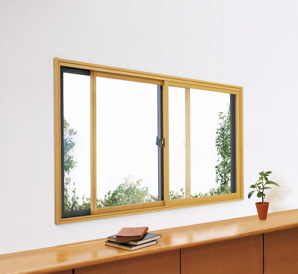 内窓 寸法オーダー 幅1000×高2200≪プラマードU:Low-E 保証 送料込 ペアガラス仕様≫YKKAP