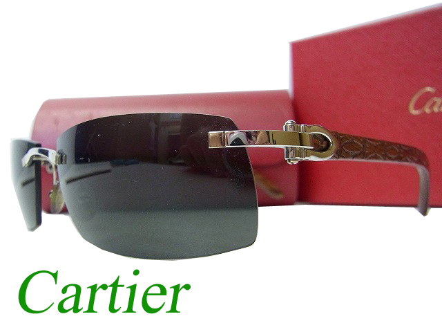 cartier cartier wood frame sunglasses glasses men 0250 - Cartier Frames For Men