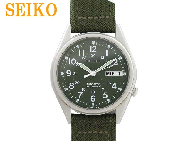 SEIKO精工7S26-3060自动卷人手表日日期0213