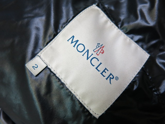 MONCLER K2 special emblem down jacket black MONCLER 0163 outer black mens