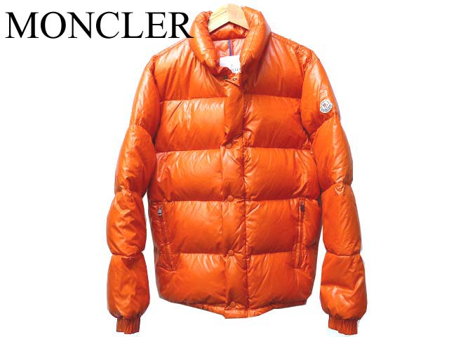 ... regular moncler venice down jacket orange mens 0335 moncler men