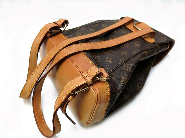 Louis Vuitton Monogram Montsouris MM backpack bag bag 0191 LOUIS VUITTON products-M51136 manufacturing number SP0997