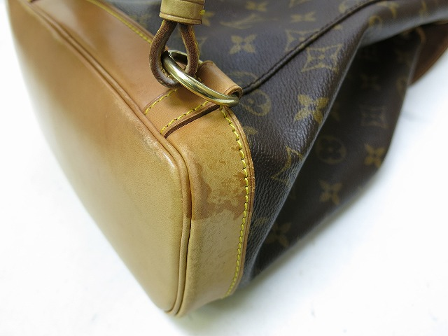 Louis Vuitton Monogram Montsouris MM backpack bag bag 0191 LOUIS VUITTON products-M51136 manufacturing number SP0997