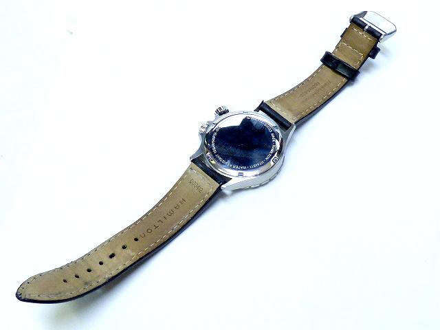 美品汉密尔顿HAMILTON黄褐色石英H744511钟表男性0084