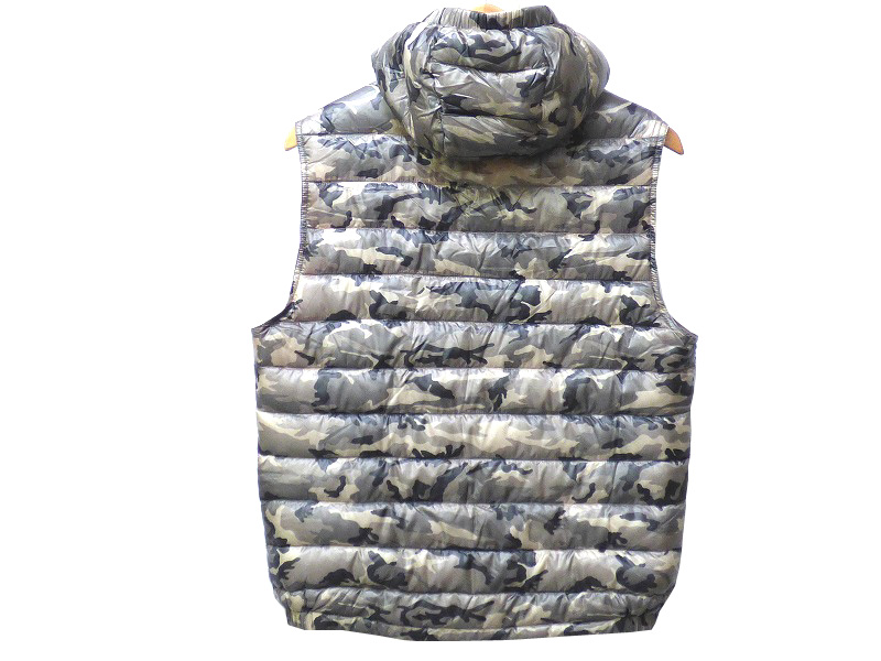 moncler camouflage vest