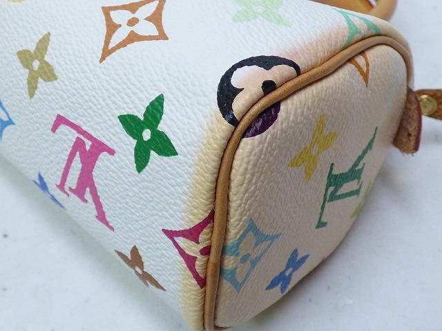 ER Louis Vuitton multi mini spy-di handbag white bag 0498 Louis Vuitton/M92645/TH0023