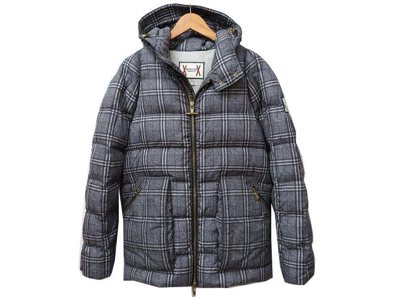 Regular MONCLER gamble GIACCONE down jacket 1 mens MONCLER GAMME BLEU check MONCLER Japan