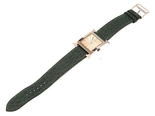 美品愛馬仕H表HH1.510男子的石英手錶HERMES 0293