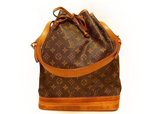 ルイヴィトン モノグラム ノエ ショルダーバッグ 巾着 品番 M42224 Louis Vuitton 0129 【中古】