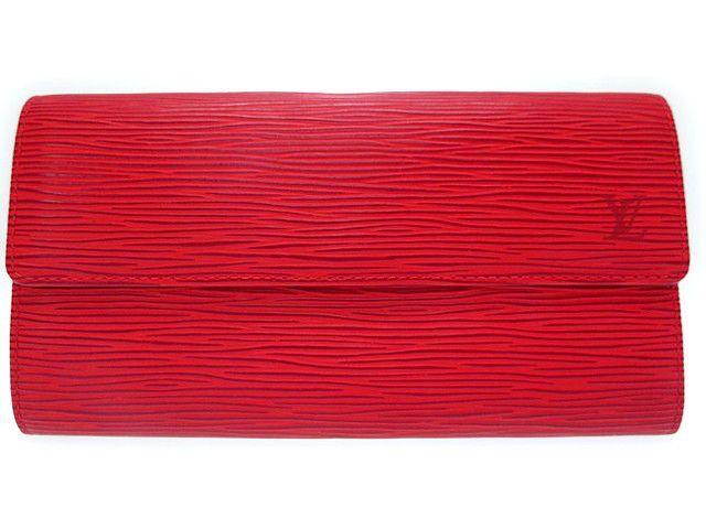 新品同様 ルイヴィトン エピ ポルトモネ クレディ 長財布 M6359E 0471 【中古】 Louis Vuitton