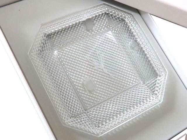 未使用 ヴァンクリーフ&アーペル 皿 ガラス トレイ クリア 0505【中古】Van Cleef&Arpels