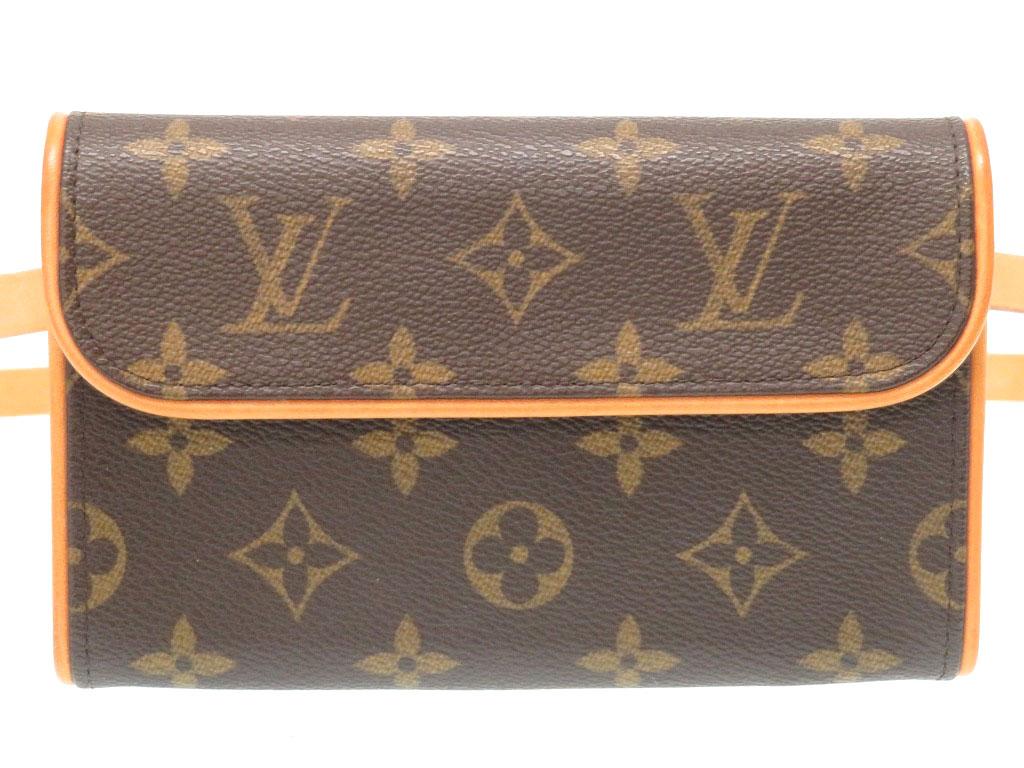 美品 ルイ ヴィトン モノグラム ポシェット フロランティーヌ M51855 ウエストバッグ バッグ 0036【中古】LOUIS VUITTON